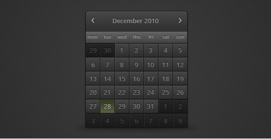 40 Useful And Free Calendar Designs In PSD Format 36