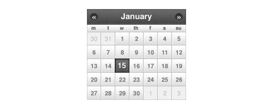 40 Useful And Free Calendar Designs In PSD Format 31