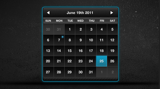 40 Useful And Free Calendar Designs In PSD Format 39