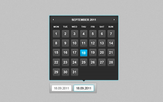 40 Useful And Free Calendar Designs In PSD Format 40
