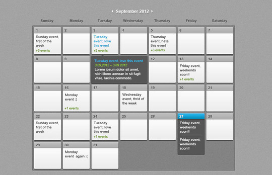 40 Useful And Free Calendar Designs In PSD Format 34