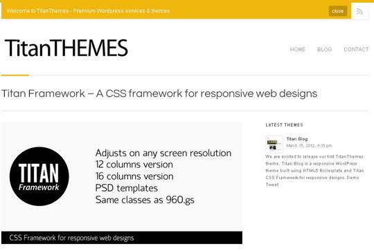 16 Useful Responsive CSS Frameworks And Boilerplates 11