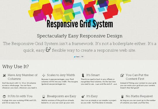 16 Useful Responsive CSS Frameworks And Boilerplates 3