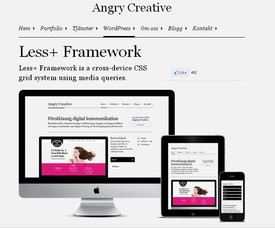 16 Useful Responsive CSS Frameworks And Boilerplates 4