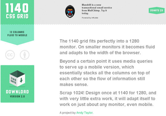 16 Useful Responsive CSS Frameworks And Boilerplates 7