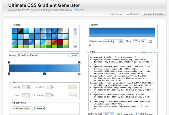 12 Extremely Useful And Powerful Free CSS Tools 9