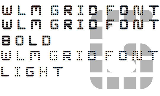 16 Free Grid Fonts For Your Designs 10