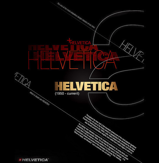 Astonishing Helvetica Typographic Poster Design 20