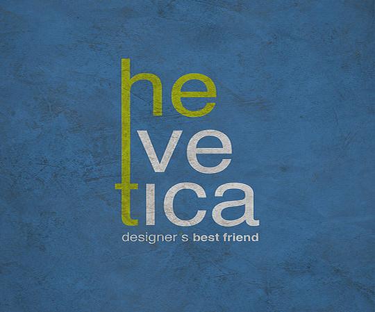Astonishing Helvetica Typographic Poster Design 24