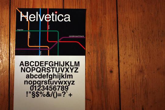 Astonishing Helvetica Typographic Poster Design 25