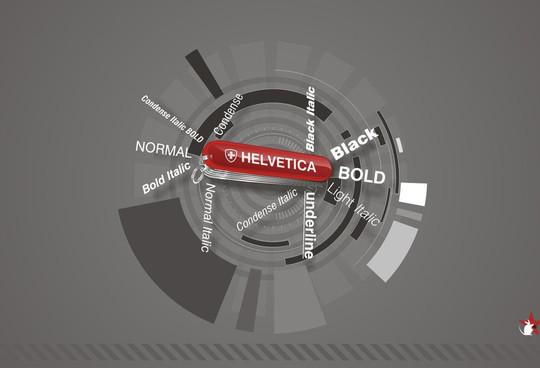 Astonishing Helvetica Typographic Poster Design 28