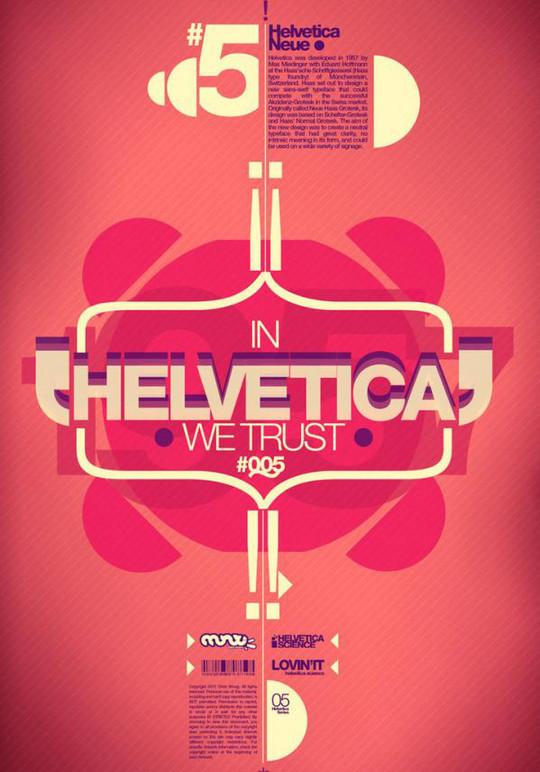 Astonishing Helvetica Typographic Poster Design 30