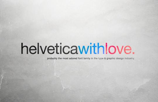 Astonishing Helvetica Typographic Poster Design 31