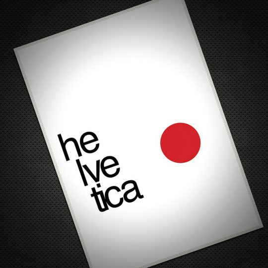 Astonishing Helvetica Typographic Poster Design 34