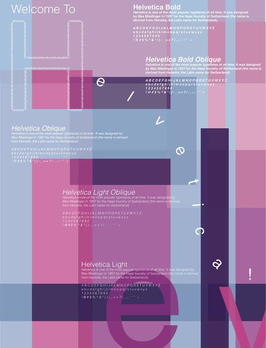 Astonishing Helvetica Typographic Poster Design 38