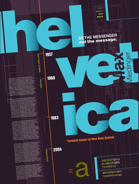Astonishing Helvetica Typographic Poster Design 11