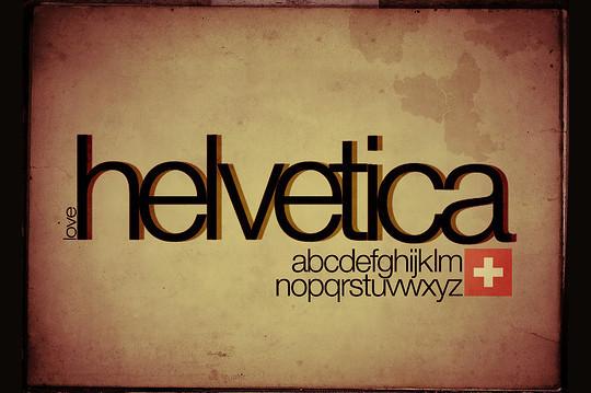 Astonishing Helvetica Typographic Poster Design 9