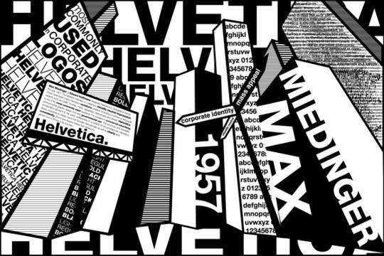 Astonishing Helvetica Typographic Poster Design 16