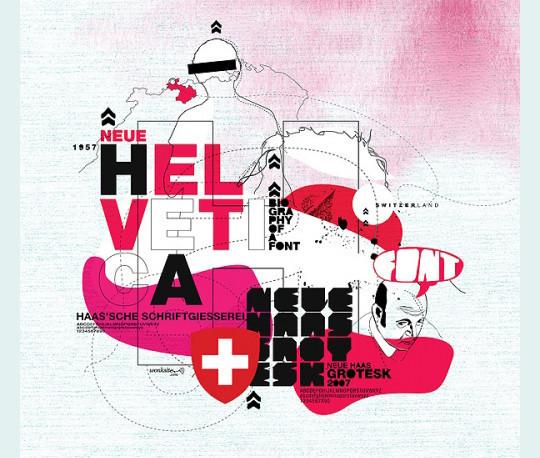Astonishing Helvetica Typographic Poster Design 15
