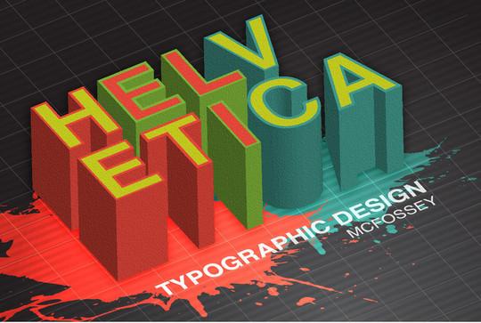 Astonishing Helvetica Typographic Poster Design 19