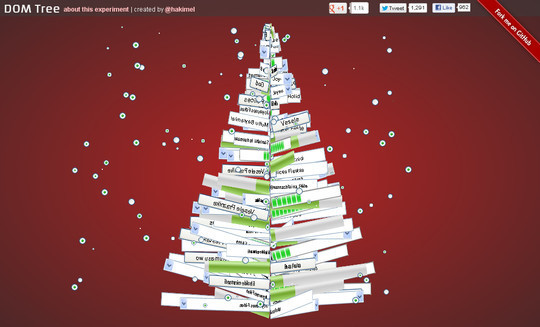 16 Ridiculously Impressive CSS3 & HTML5 Experiments 8