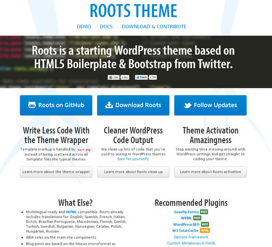 35 Free HTML5 WordPress Themes For Your Blog 30
