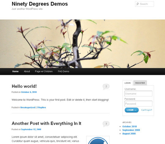 35 Free HTML5 WordPress Themes For Your Blog 31