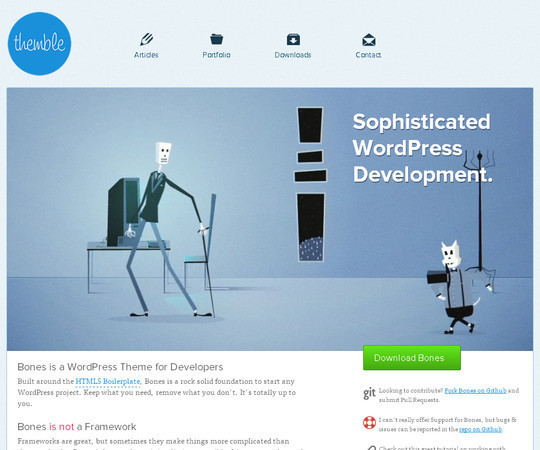 35 Free HTML5 WordPress Themes For Your Blog 32
