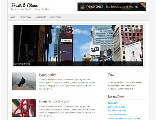 35 Free HTML5 WordPress Themes For Your Blog 8