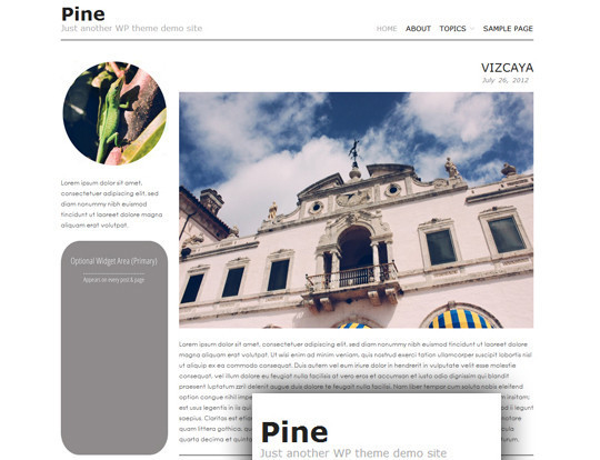 35 Free HTML5 WordPress Themes For Your Blog 33