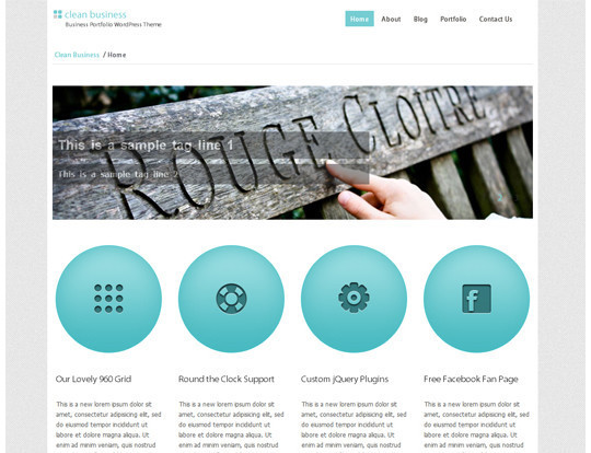 35 Free HTML5 WordPress Themes For Your Blog 17