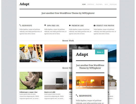 35 Free HTML5 WordPress Themes For Your Blog 19