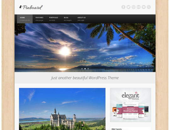 35 Free HTML5 WordPress Themes For Your Blog 15
