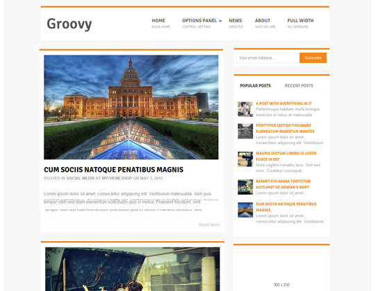 35 Free HTML5 WordPress Themes For Your Blog 21