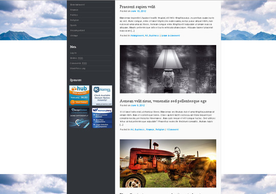 35 Free HTML5 WordPress Themes For Your Blog 25