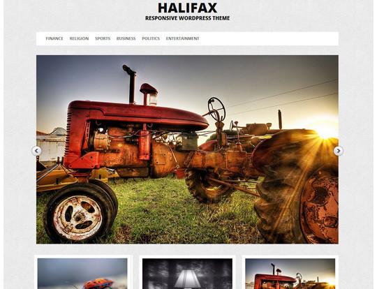 35 Free HTML5 WordPress Themes For Your Blog 28