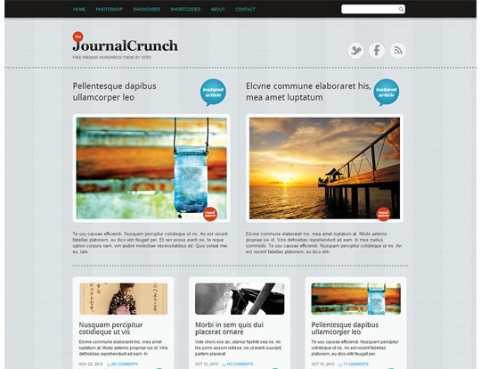 35 Free HTML5 WordPress Themes For Your Blog 29