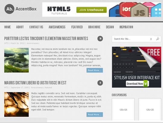 35 Free HTML5 WordPress Themes For Your Blog 3
