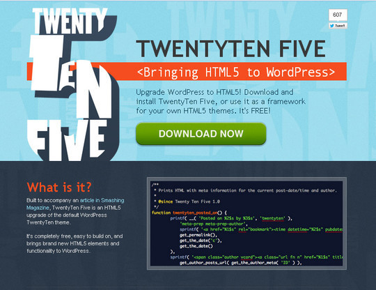 35 Free HTML5 WordPress Themes For Your Blog 10