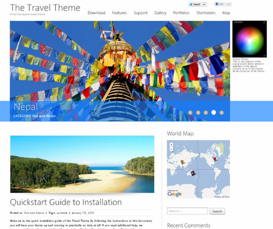 35 Free HTML5 WordPress Themes For Your Blog 20