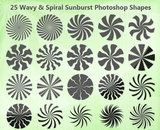 25 Useful Free Photoshop Custom Shape Sets 18