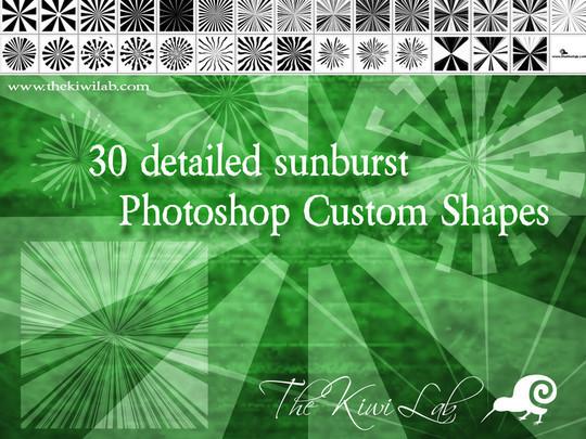 25 Useful Free Photoshop Custom Shape Sets 21