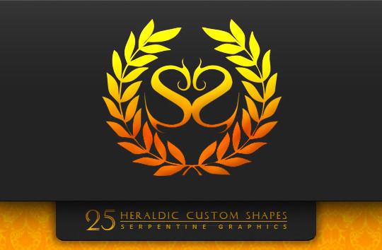 25 Useful Free Photoshop Custom Shape Sets 23