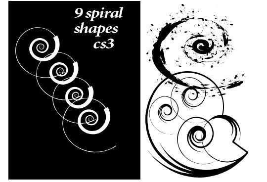 25 Useful Free Photoshop Custom Shape Sets 2