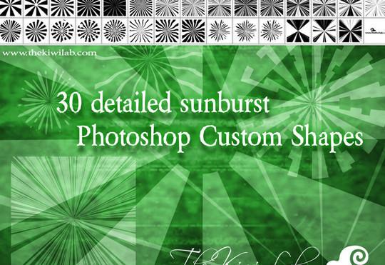 25 Useful Free Photoshop Custom Shape Sets 11