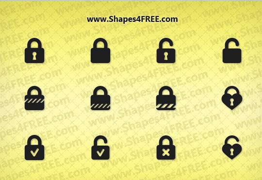 25 Useful Free Photoshop Custom Shape Sets 4
