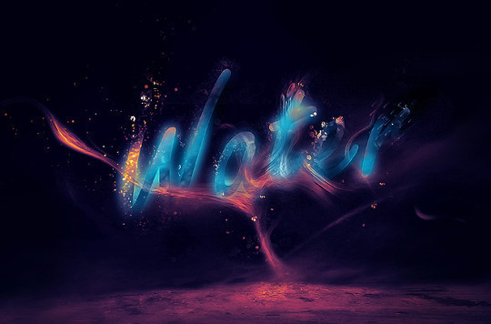 40 Fresh And Creative Photoshop Text Effects Tutorials 2