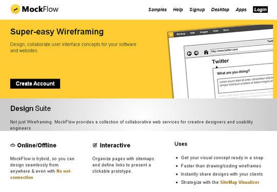 11 Useful Free UI Wireframe Tools For Designer 9