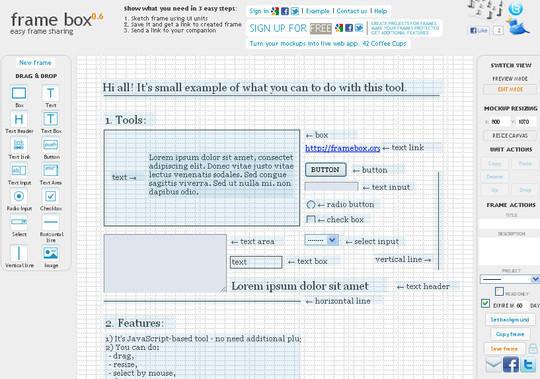 11 Useful Free UI Wireframe Tools For Designer 2