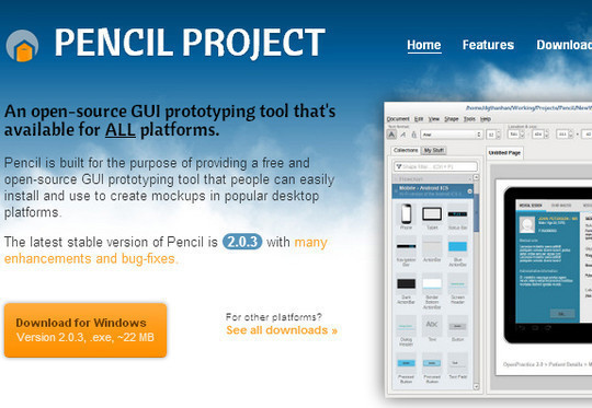 11 Useful Free UI Wireframe Tools For Designer 5
